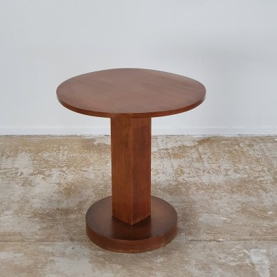 1920s side table in solid wood
