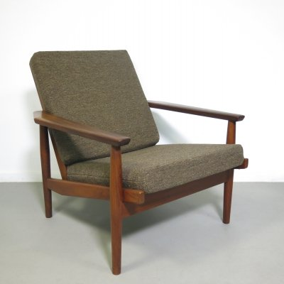 Teak lounge chair by Rob Parry for Gelderland, ca 1950