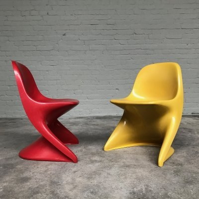 Casalino Junior (Children's) Chair by Alexander Begge for Casala, Italy 1970s