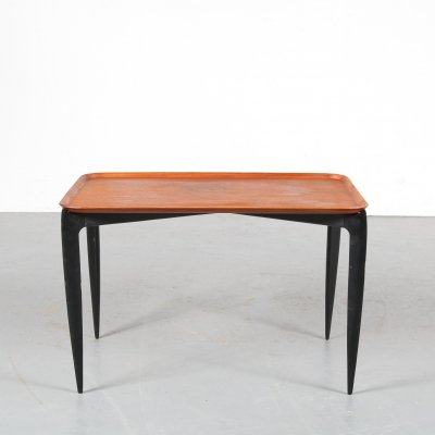 Tray side table by Svend Åge Willumsen & Hans Engholm for Fritz Hansen, 1950s