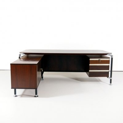 1970's desk by Ico & Luisa Parisi for M.I.M. Roma