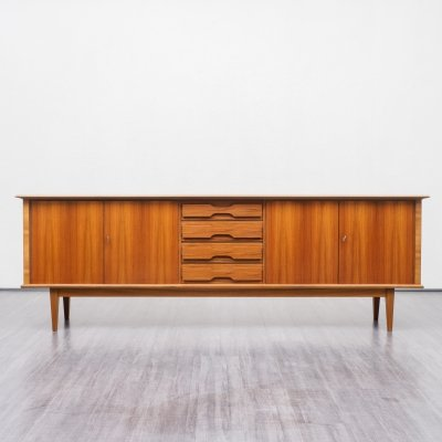 Large mid century sideboard in walnut, 1960s
