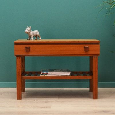 Vintage Scandinavian side table / cabinet, 1970s