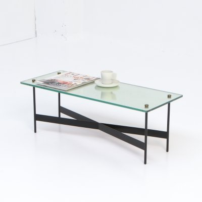 Low Mirror Coffee Table, 1950s