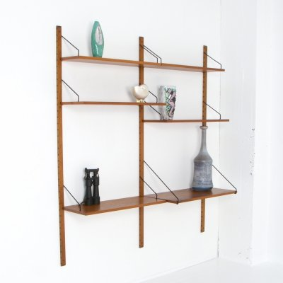 Small Wall Unit Royal System by Poul Cadovius