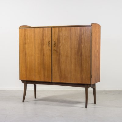 Modern MidCentury sculptural cabinet by Carl Axel Acking