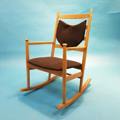 Niels Eilersen rocking chair, 1960s