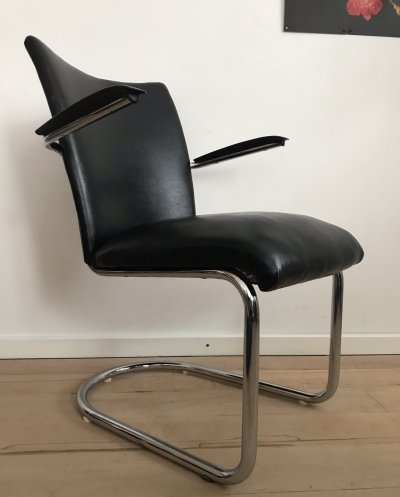 Model 1018 lounge chair by Toon De Wit for De Wit, 1950s