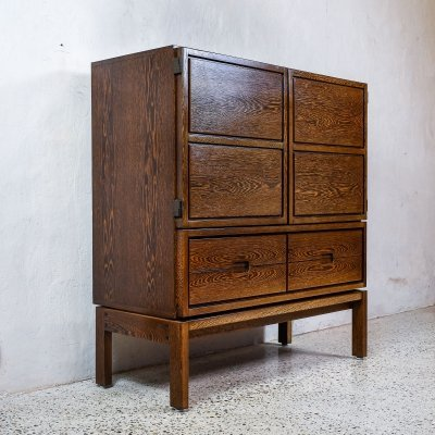 Wengé Highboard by Royal Board Sweden
