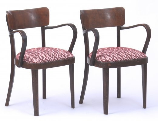 2 x Thonet arm chair, 1950s