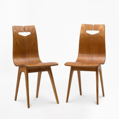 Pair of type 1329 chairs by R.T. Hałas