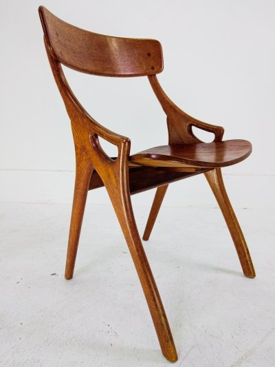 Danish Dining Chair by Hovmand Olsen for Mogens Kold, 1960s