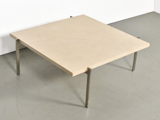 PK61 coffee table by Poul Kjærholm for Fritz Hansen, 1990s