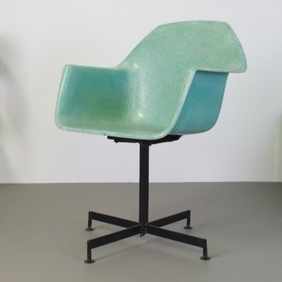 Fiberglass armchair by Lawrence Peabody for Selig, 1950s