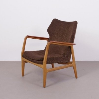 Set of men's & women's armchair by Aksel Bender Madsen, 1950s