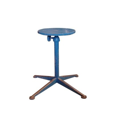 Rotatable & height adjustable high model stool by Friso Kramer, 1950s