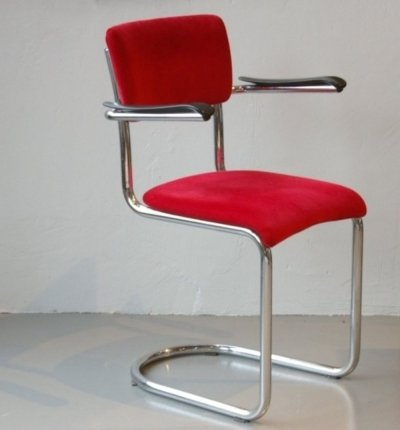 Toon de Wit 1012 chair, 1950s