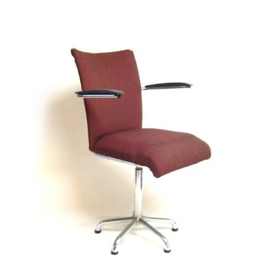 Toon De Wit 1818 office chair, 1960s