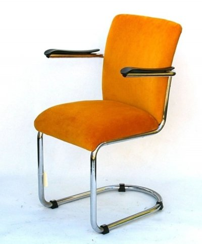 Model 1019 chair by Gebroeders De Wit, 1950s