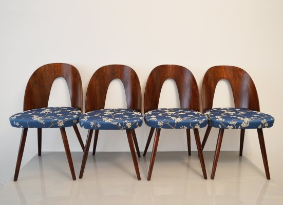 Set of 4 Dining Chairs by Antonín Šuman for Mier, 1960s