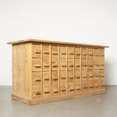 Chest with 40 drawers