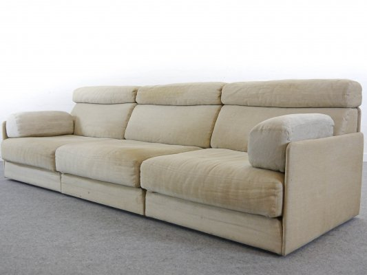 De Sede Modular DS-76 Sofa / Daybed in Canvas, 1970s