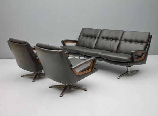 Living Room set by Carl Straub, Germany 1960s