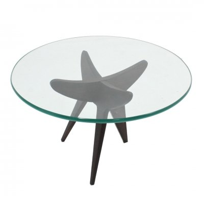 Vintage French design coffee table, 1950s