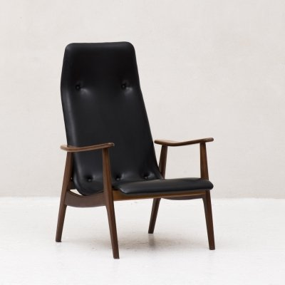 Easy chair by Louis Van Teeffelen for Wébé, 1960's