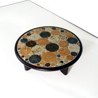 1960's coffee table by Tue Poulsen for Haslev