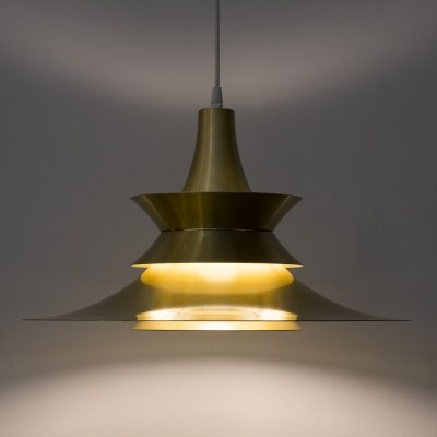 Pendant lamp by Bent Nordsted for Lyskær Belysning, 1970s