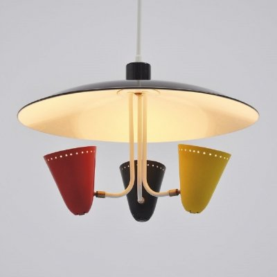Hala uplighter designed by H. Busquet, 1955