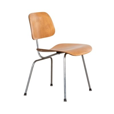 DCM dining chair by Charles & Ray Eames for Herman Miller, 1950s