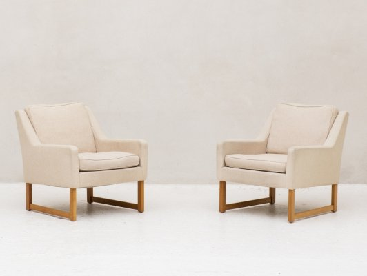 Set of 2 easy chairs by Rudolf Bernt Glatzel for Kill International, Germany 1960s