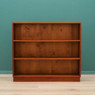 Vintage Scandinavian design bookcase, 1960s