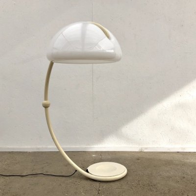 Vintage floor lamp by Martinelli Luce, Italian design 1970s