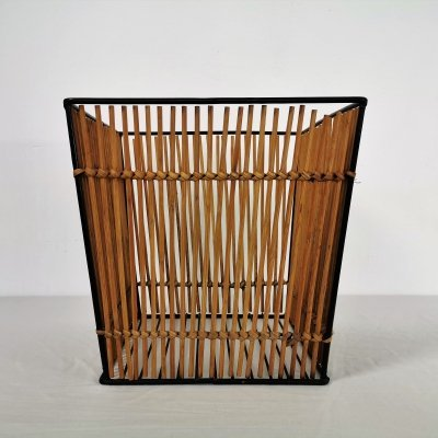 Dutch Rattan Rohe Basket, 1960's