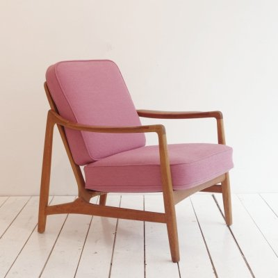 Mod.117 arm chair by Tove Kindt Larsen & Edvard Kindt Larsen for France & Daverkosen, 1960s