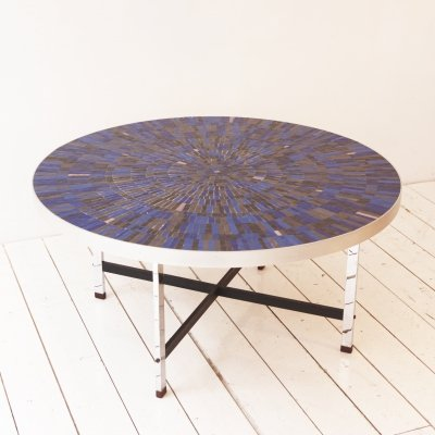 Coffee table by Berthold Müller Oerlinghausen for Berthold Müller Mosaikwerkstätten, 1960s
