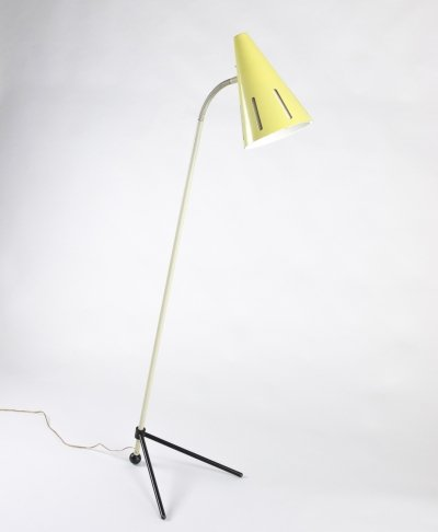 Floor lamp by H. Busquet for Hala Zeist, 1950s