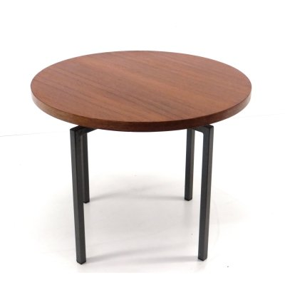 Vintage round side table / coffee table from Kuperus Almelo, 1960s