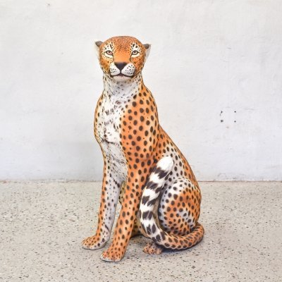 Big Ceramic Leopard, 1970s
