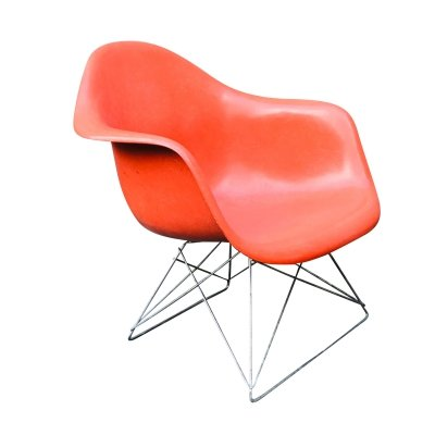 LAR Fibreglass Chair by Charles & Ray Eames for Felhbaum, 1970s