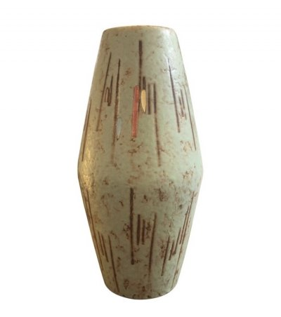Scheurich Modernist Ceramic Vase, Germany 1960s