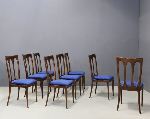 Set of 8 MidCentury chairs by William Ulrich, 1950s
