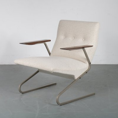 Belgian lounge chair by George van Rijck for Beaufort, 1960s
