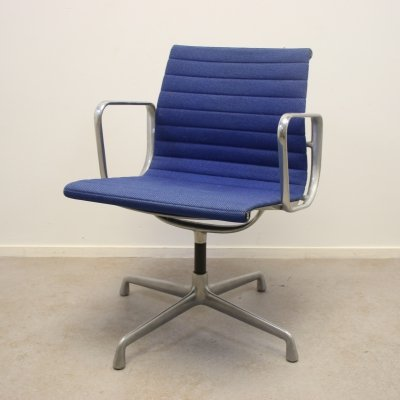 Blue Turnable EA 108 Office by Charles & Ray Eames