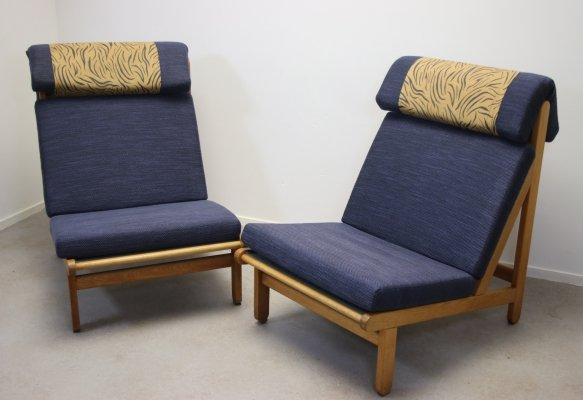 2 Rag Chairs by Bernt Petersen for Schiang, 1960s