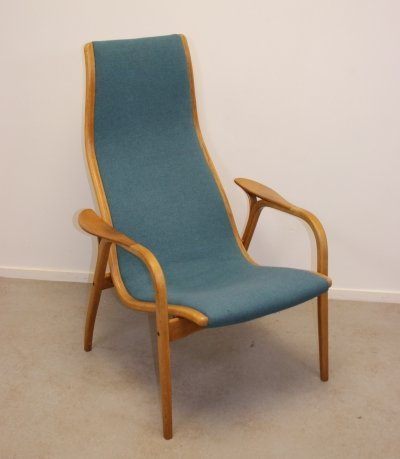 Vintage Lamino Easy Chair by Yngve Ekström for Swedese, 1960s