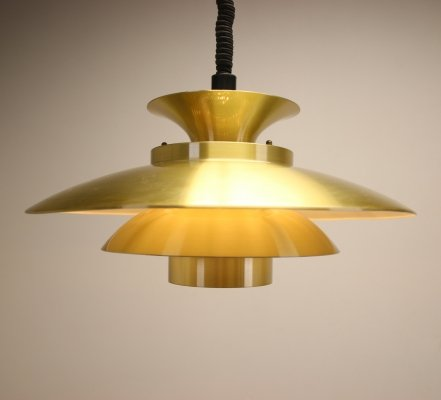 Danish design hanging lamp by Form Light, 1970s